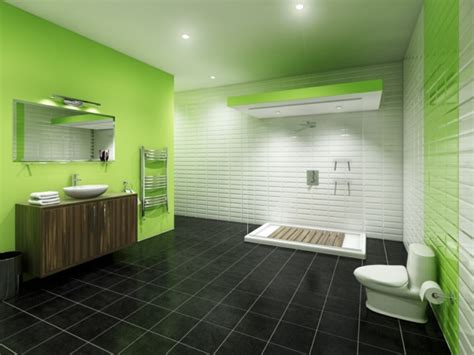 Badezimmerteppich Modern by 100 Ideen F 252 R Wandgestaltung In Gr 252 N