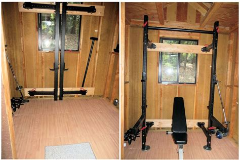 small home gyms small home gym and yoga studio plus review of titan t 3 power rack nyteez