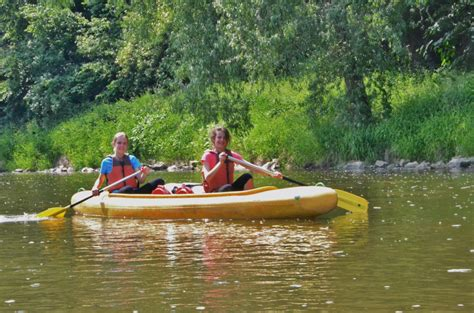 Takes The To School In Prague 6 by Canoe Trip To S 225 Zava Riverside International School In