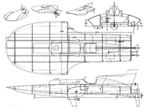 wooden hydro boat plans classic model boat plans