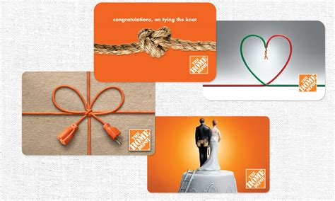 Designer Gift Cards - the home depot gift card design msi a marketing communications giftcard