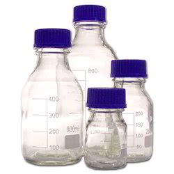 Botol Reagen Laboratory Bottles Reagent Bottle With Cap
