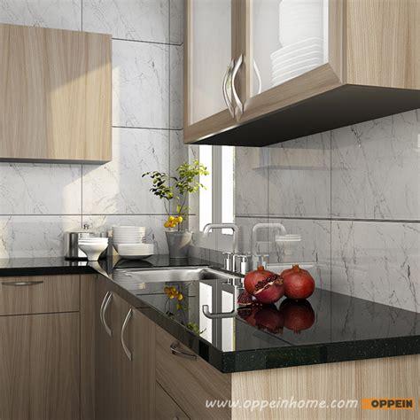 Melamine Kitchen Cabinet U Shaped Kitchen Design Wood Grain Melamine Kitchen Oppeinhome