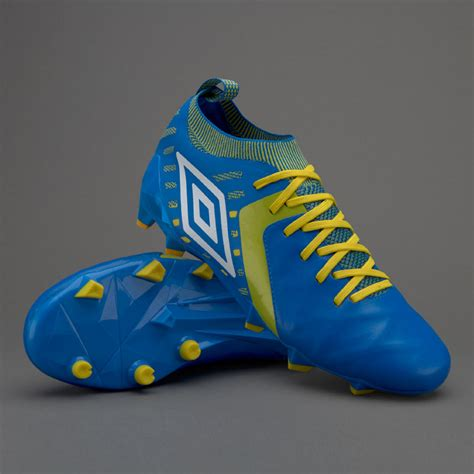 Sepatu Nike Football Sepatu Bola Umbro Medusae Ii Elite Fg Electric Blue White Blazing Yellow