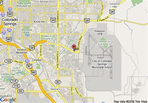 colorado springs tourist attractions map inn express colorado springs airport colorado