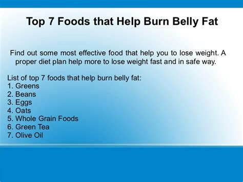 Top 7 Most Talked About Diet Plans by 7 Food That Help To Lose Weight