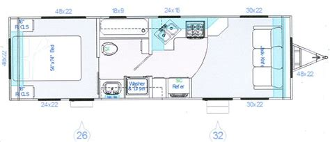 30 foot travel trailer floor plans pin by patti mennes on tt pinterest