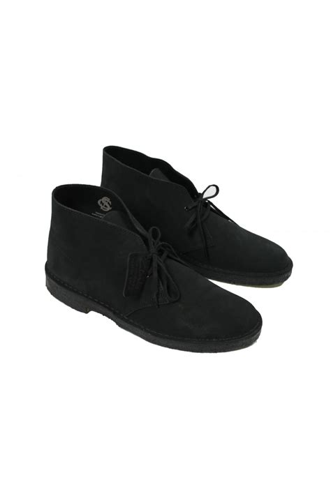 clarks originals black suede desert clarks originals suede desert boots black thirtysix