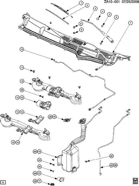 windshield wiper assembly diagram saturn ion turn signal wiring diagram saturn get free