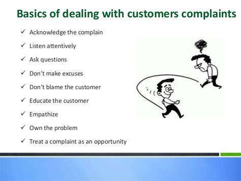Handling A Complaint Letter Customer Handling Customer Complaints Basic Email Etiquettes