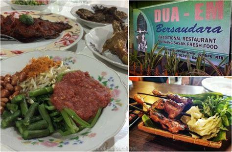 Tempat Makan Anjing Dua Bulat daftar tempat makan enak di mataram lombok aneka info unik