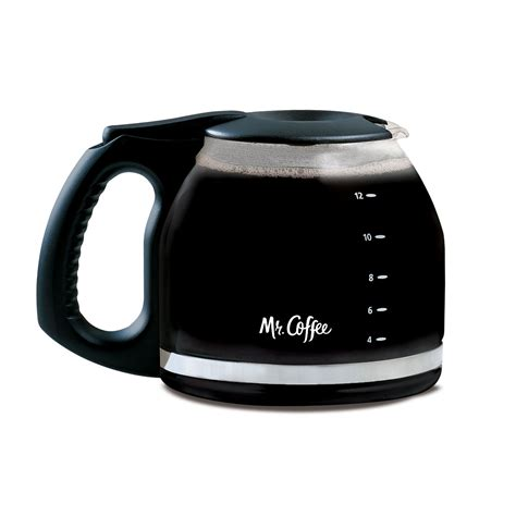 12 Cup Glass Carafe by Mr Coffee®, Black PLD12 NP