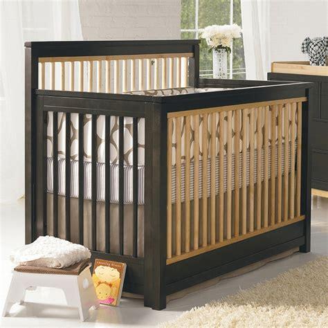 Two Tone Baby Cribs Two Tone Baby Cribs Babyletto Hudson 3 In 1 Convertible Crib In Two Tone Espresso White