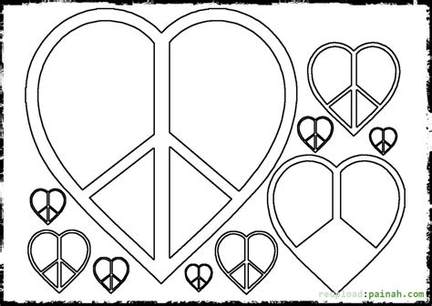 peace sign coloring pages peace sign symbol coloring pages coloring pages