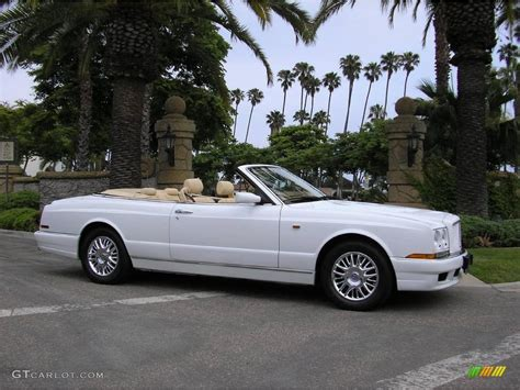 1999 bentley azure white 1999 bentley azure standard azure model exterior