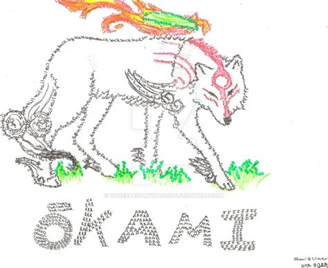 okami stray okami fanart by vanessastrayblood on deviantart