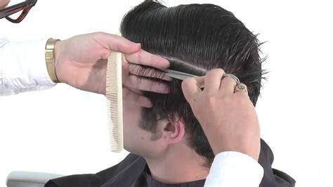 cutting boy hair with scissors maxresdefault jpg
