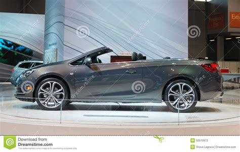 opel chicago 2016 buick opel cascada editorial stock photo image of