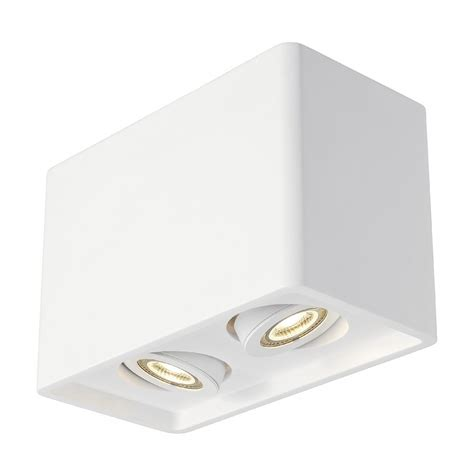 Cube Ceiling Light Plaster Dual Cube Ceiling Light Imperial Lighting