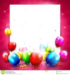 birthday background stock vector image of happiness