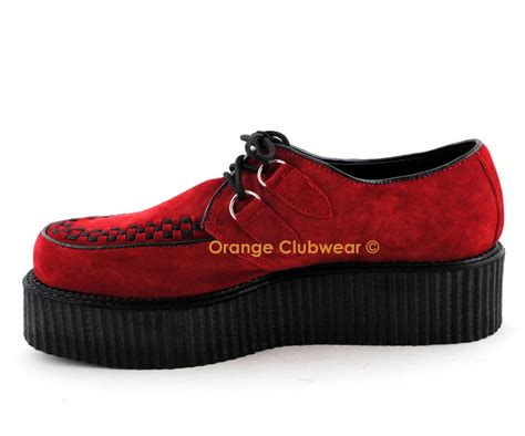 demonia creeper 402s s suede creepers shoes ebay