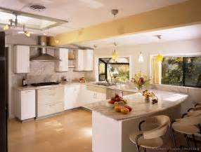 White Kitchen Cabinets by Pictures Of Kitchens Modern White Kitchen Cabinets