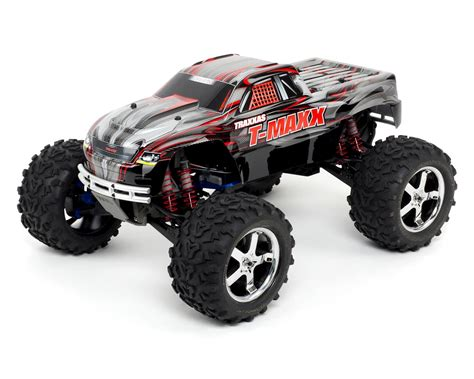 traxxas nitro monster truck t maxx 3 3 4wd rtr nitro monster truck black by traxxas