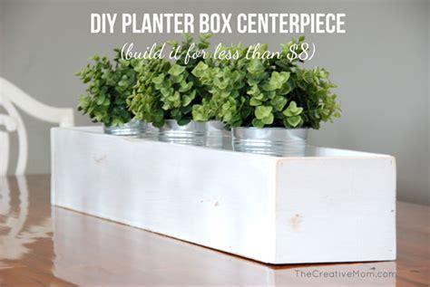 Planter Centerpieces by Diy Planter Box Centerpiece Build It For 8