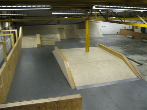 Garage Livingston by New Skateshop At The Garage Skatepark Livi