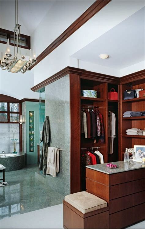 bathroom with walk in closet designs 19 best master bath closet combo images on pinterest