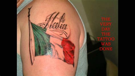 my italian flag tattoo youtube