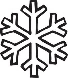 Easy Snowflake Outline by Simple Snowflake Outline Search Projects Snowflakes Simple