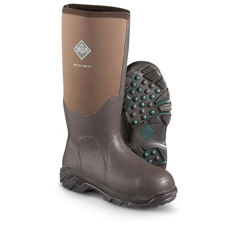 muck boots muck boot s artic pro boots fleece liner