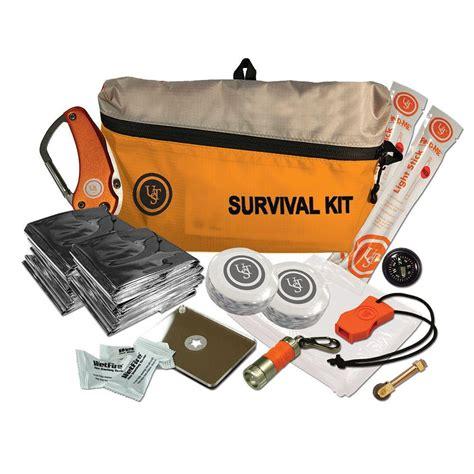 ust featherlite survival kit orange 16 20 725 01 the home depot