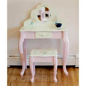 Youth Vanity Table Teamson W 5700ar Bouquet Childrens Table Stool