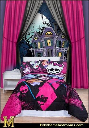 monster high bedroom decorating ideas decorating theme bedrooms maries manor skulls