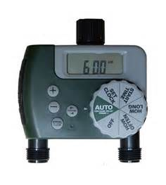 water faucet timer orbit sunmate digital 2 outlet hose faucet timer watering