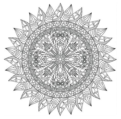 mandala coloring pages adults free 498 free mandala coloring pages for adults