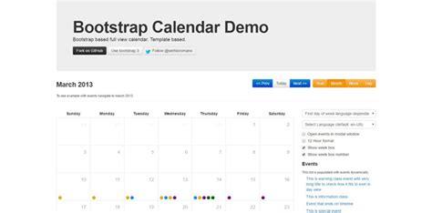 bootstrap calendar template 20 best jquery calendar plugins for your websites