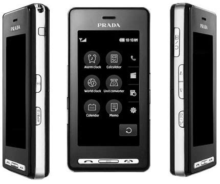 The Prada Phone By Lg by The Lg Prada Ii Mobile Phone Specifications Were Published
