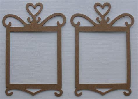 Frame Chipboard 4 decorative frame princess frames chipboard die cuts 3 quot x 4 5 8 ebay