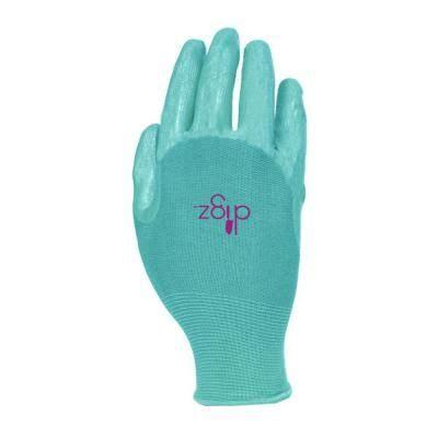 digz womens medium full finger nitrile coated glove
