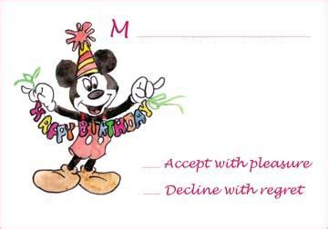 Mickey Mouse Greeting Card Template by 17 Best Images About Diy Birthday Invitations Printables