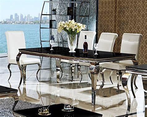 luxus esszimmertisch esstisch 180 x 90 x 76 lara schwarz esszimmer designer
