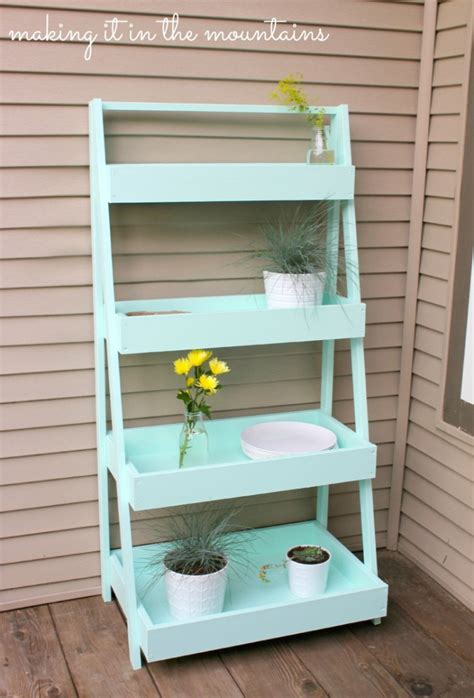 Diy Garden Shelf by 15 Diy Plant Stands To Fill Your Home With Greenery