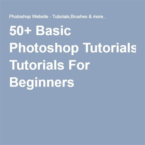 photoshop tutorial pdf for beginners 17 best images about photoshop on pinterest adobe