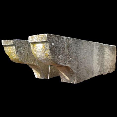 mensole in pietra ra ma coppia di mensole in pietra di trani