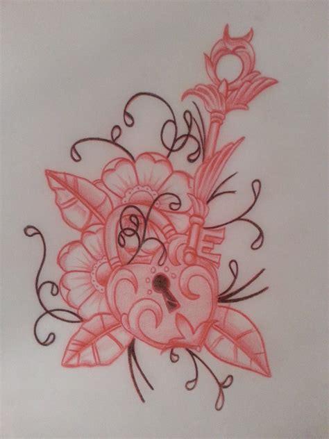 heart lock and key tattoo designs traditional lock and key by tattman79 on deviantart