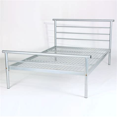 Metallic Bed Frame Hercules Metal Bed Frame Up To 60 Rrp Next Day Select Day Delivery