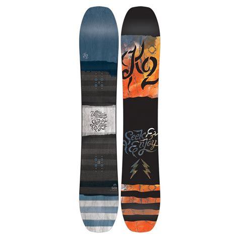 tavole snowboard k2 k2 ultra snowboard 2017 evo
